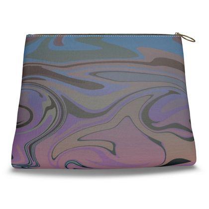 Clutch Bag - Marble Rainbow 5