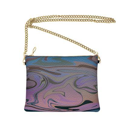 Crossbody Bag - Marble Rainbow 5