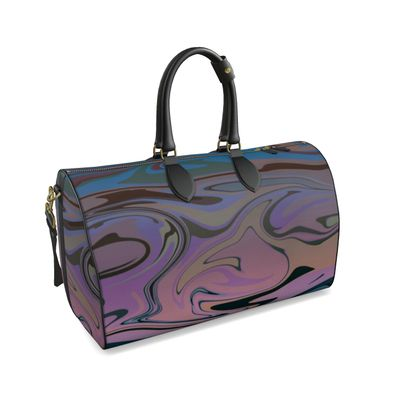Large Duffle Bag - Marble Rainbow 5