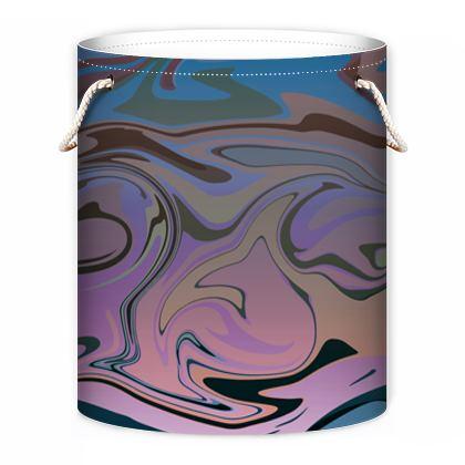 Laundry Bag - Marble Rainbow 5