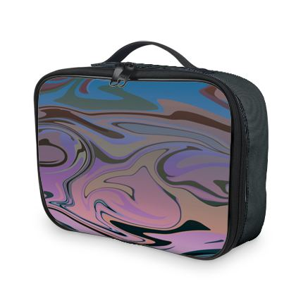 Lunch Bags - Marble Rainbow 5