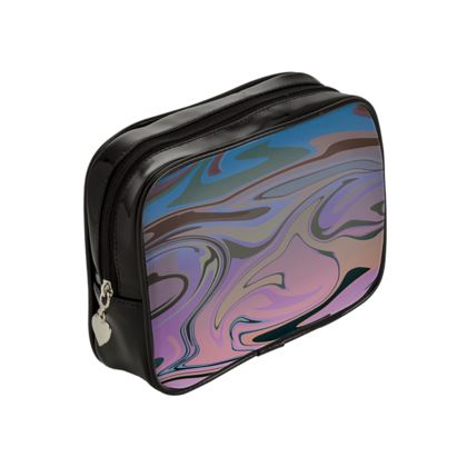Make Up Bags - Marble Rainbow 5