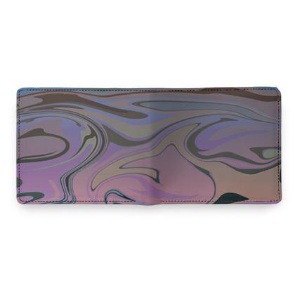 Mens Wallet - Marble Rainbow 5