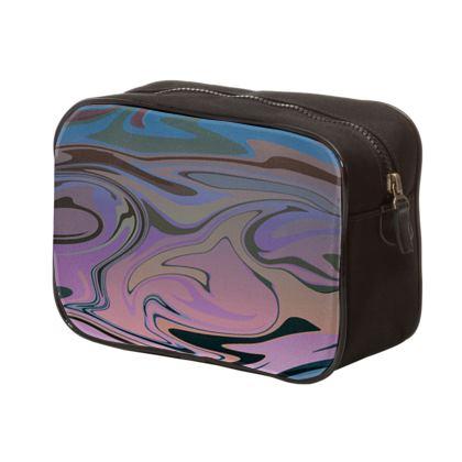 Mens Washbag - Marble Rainbow 5