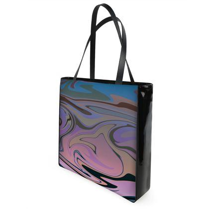 Shopper Bags - Marble Rainbow 5