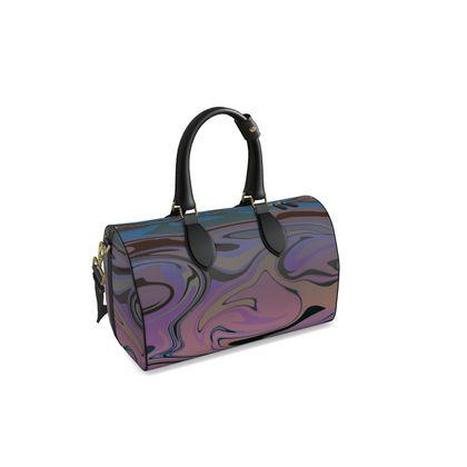 Small Duffle Bag - Marble Rainbow 5