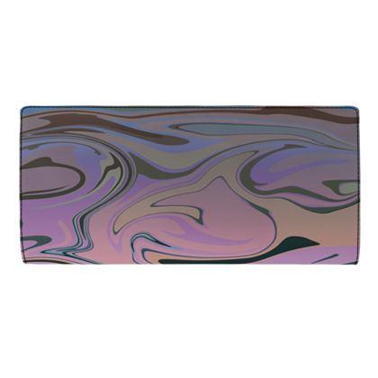 Travel Wallet - Marble Rainbow 5