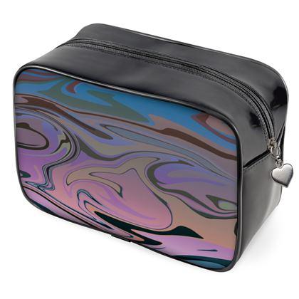 Wash Bags - Marble Rainbow 5