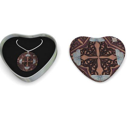 Celtic Cross Sterling Silver Necklace