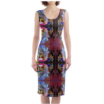New Baroque Bodycon Dress