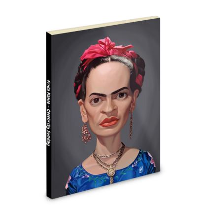 Frida Kahlo Celebrity Caricature Pocket Note Book