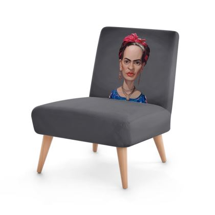 Frida Kahlo Celebrity Caricature Occasional Chair