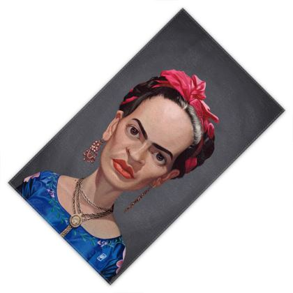 Frida Kahlo Celebrity Caricature Towels