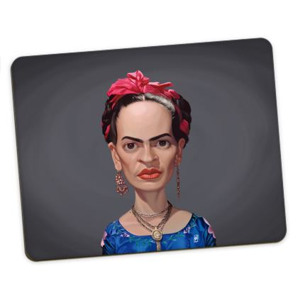 Frida Kahlo Celebrity Caricature Placemats