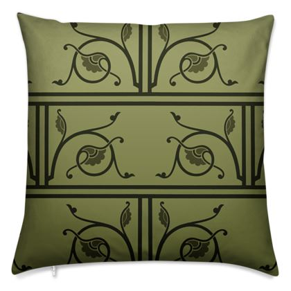 Cushions - Medieval Pattern from The Practical Decorator 1 of 8