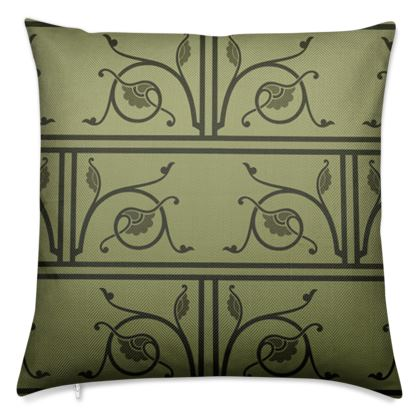 Luxury Cushions - Medieval Pattern from The Practical Decorator 1 of 8