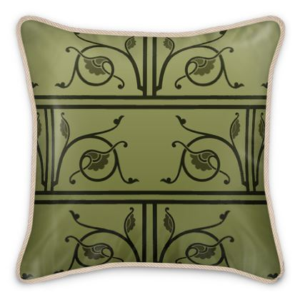 Silk Cushions - Medieval Pattern from The Practical Decorator 1 of 8