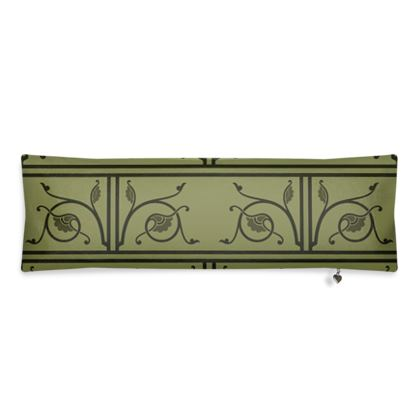Bolster Cushion - Medieval Pattern from The Practical Decorator 1 of 8