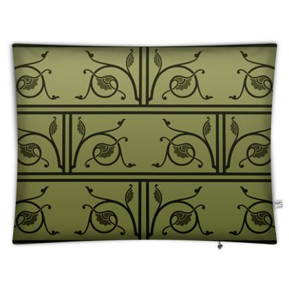 Floor Cushion Covers - Medieval Pattern from The Practical Decorator 1 of 8