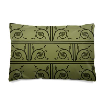 Pillow Case JAPAN - Medieval Pattern from The Practical Decorator 1 of 8