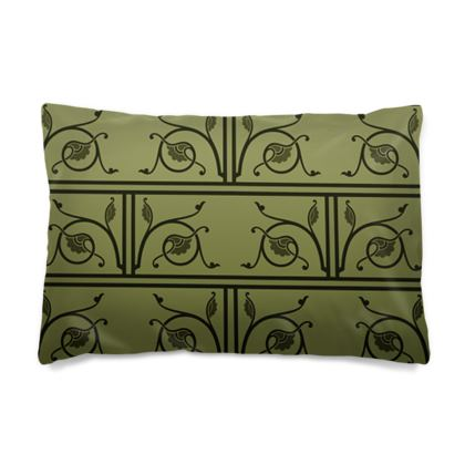 Pillow Cases Sizes - Medieval Pattern from The Practical Decorator 1 of 8