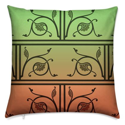 Cushions - Medieval Pattern from The Practical Decorator 2 of 8