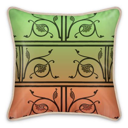 Silk Cushions - Medieval Pattern from The Practical Decorator 2 of 8