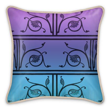 Silk Cushions - Medieval Pattern from The Practical Decorator 3 of 8