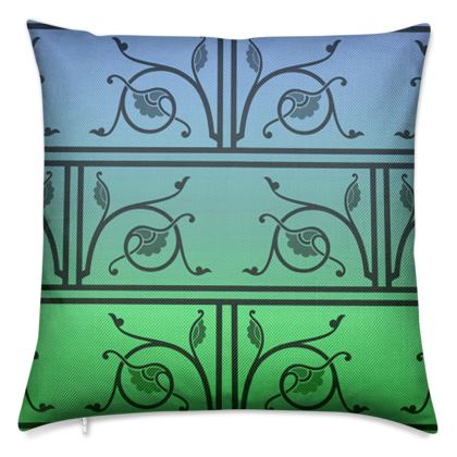 Luxury Cushions - Medieval Pattern from The Practical Decorator 4 of 8