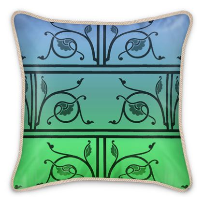 Silk Cushions - Medieval Pattern from The Practical Decorator 4 of 8