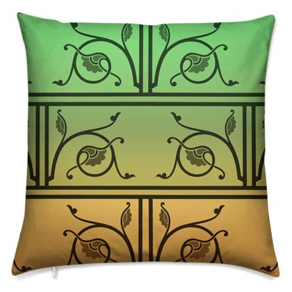 Cushions - Medieval Pattern from The Practical Decorator 5 of 8