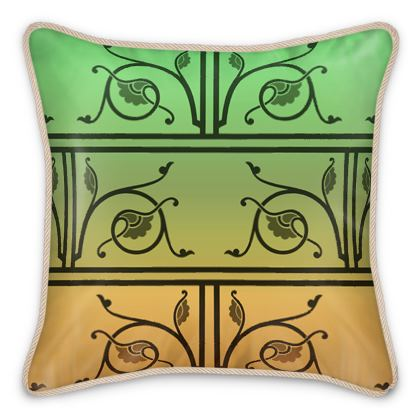 Silk Cushions - Medieval Pattern from The Practical Decorator 5 of 8