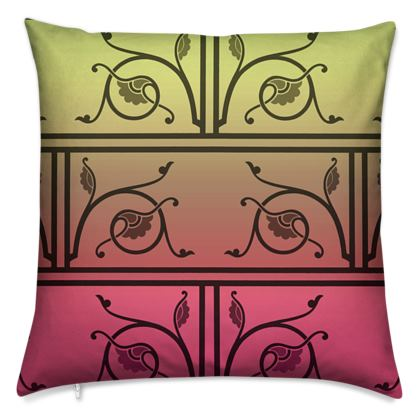 Cushions - Medieval Pattern from The Practical Decorator 6 of 8