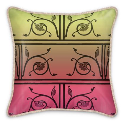 Silk Cushions - Medieval Pattern from The Practical Decorator 6 of 8