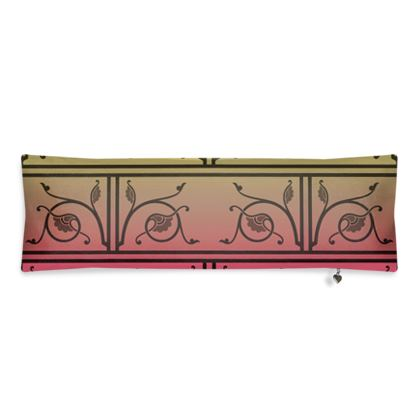 Bolster Cushion - Medieval Pattern from The Practical Decorator 6 of 8