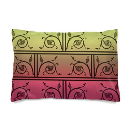 Pillow Cases Sizes - Medieval Pattern from The Practical Decorator 6 of 8