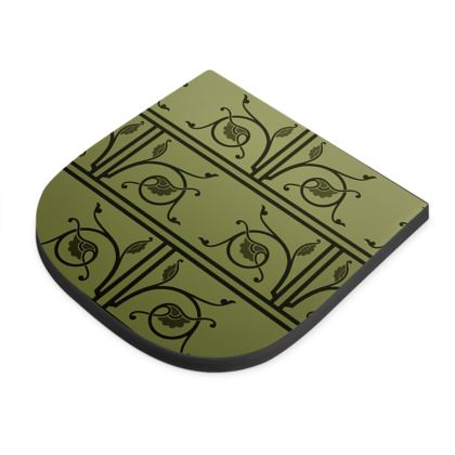 Seat Pad - Medieval Pattern from The Practical Decorator 1 of 8