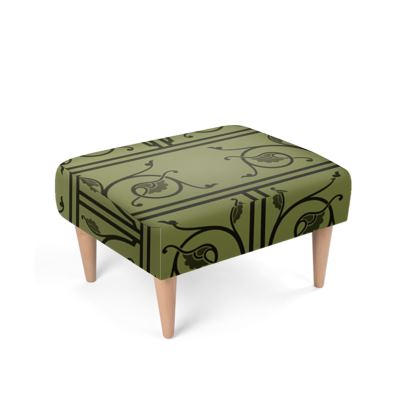 Footstool - Medieval Pattern from The Practical Decorator 1 of 8