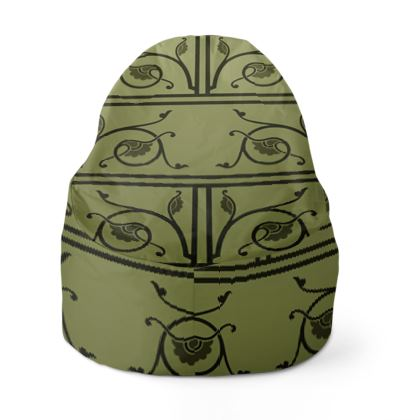 Bean Bag Cover - Medieval Pattern from The Practical Decorator 1 of 8