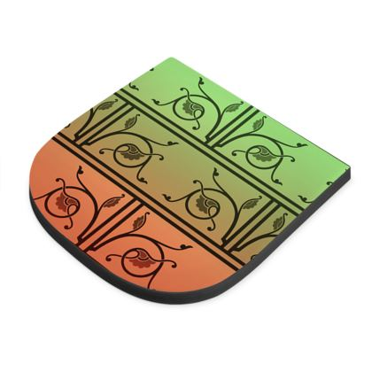 Seat Pad - Medieval Pattern from The Practical Decorator 2 of 8