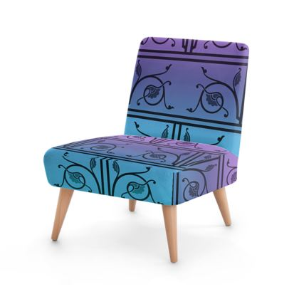 Occasional Chair - Medieval Pattern from The Practical Decorator 3 of 8