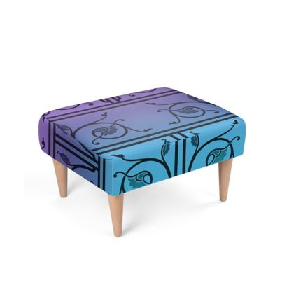 Footstool - Medieval Pattern from The Practical Decorator 3 of 8