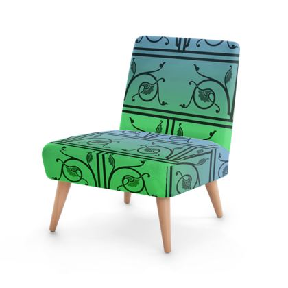 Occasional Chair - Medieval Pattern from The Practical Decorator 4 of 8