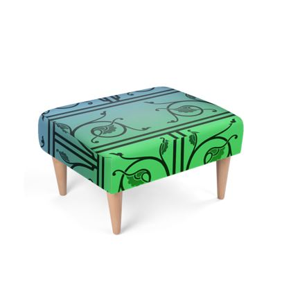 Footstool - Medieval Pattern from The Practical Decorator 4 of 8