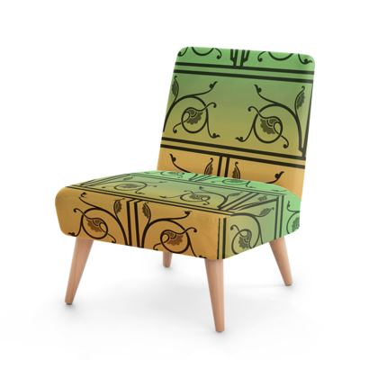 Occasional Chair - Medieval Pattern from The Practical Decorator 5 of 8