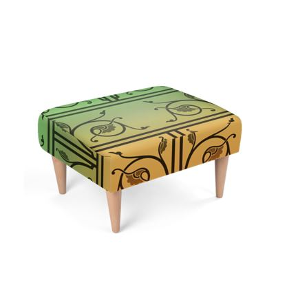 Footstool - Medieval Pattern from The Practical Decorator 5 of 8