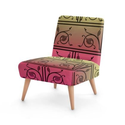 Occasional Chair - Medieval Pattern from The Practical Decorator 6 of 8