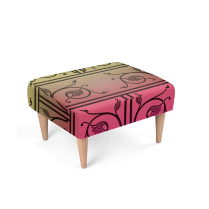 Footstool - Medieval Pattern from The Practical Decorator 6 of 8