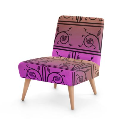 Occasional Chair - Medieval Pattern from The Practical Decorator 7 of 8