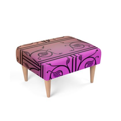Footstool - Medieval Pattern from The Practical Decorator 7 of 8